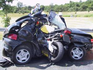 Bikes and Cars dont Mix Very Well...!