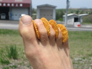 Worlds Most Cheesy Feet...Ever...!!!
