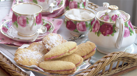 Lovely Tea & Biscuits